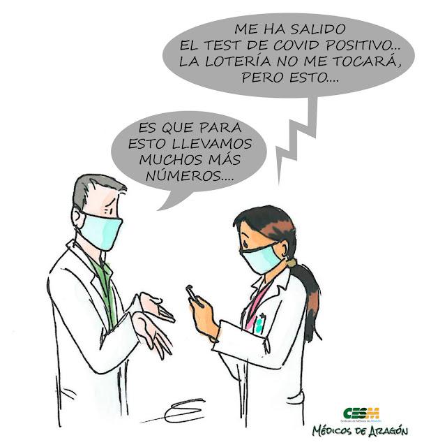 UN 10% DE LOS SANITARIOS CONTAGIADOS DE CORONAVIRUS (EL DOBLE QUE LA POBLACIÓN GENERAL)