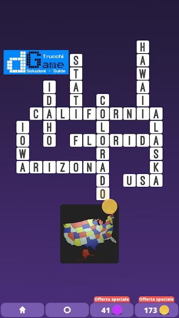 Soluzioni One Clue Crossword livello 21 schemi 8 (Cruciverba illustrato)  | Parole e foto