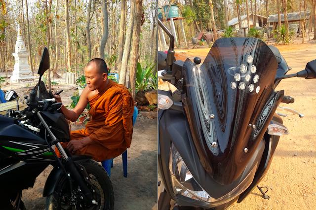 My new motorbike in Thailand