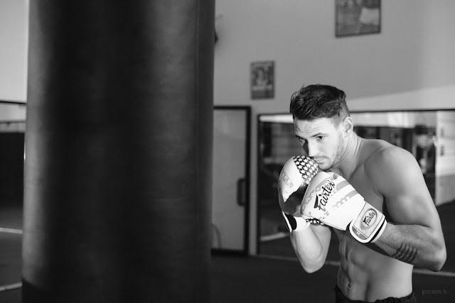 Ritratto fotografico di Filippo Saba, atleta di K1