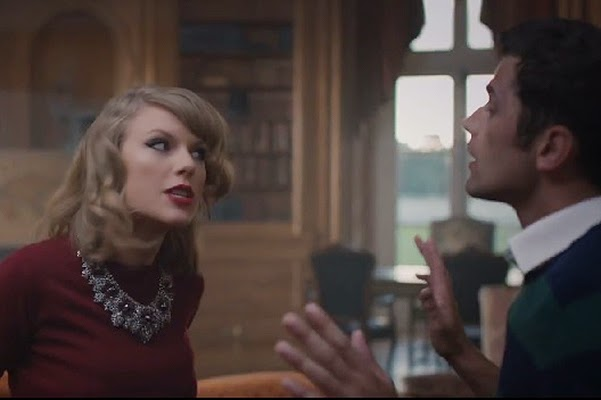 Stills from the video Blank Space -Taylor Swift