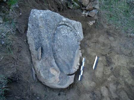 Κατάλοιπα ελαιοτριβείων στην αρχαία Θουρία Μεσσηνίας