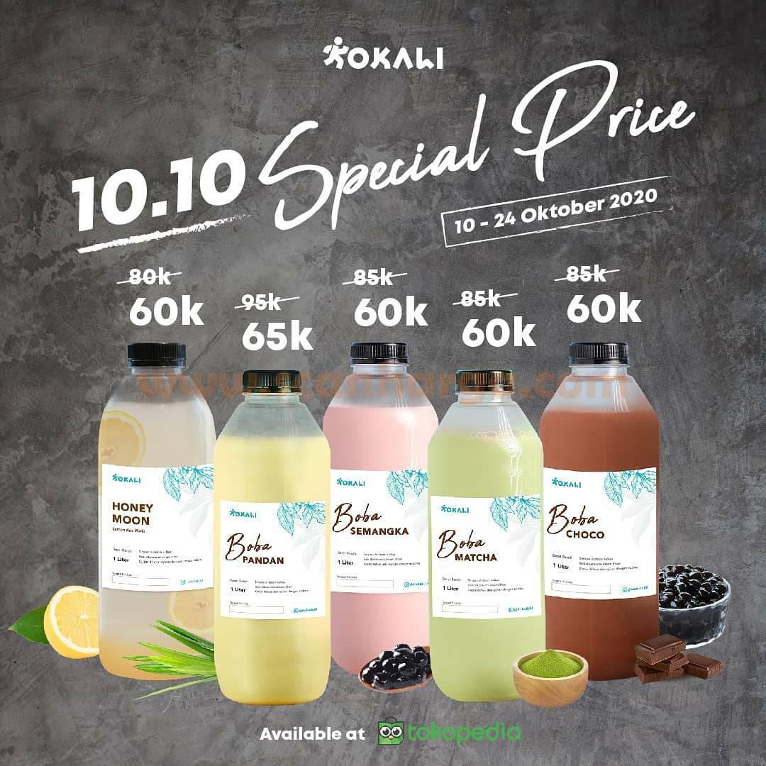 Promo KOKALI KOPI Special Price - Diskon Minuman Literan mulai Rp 60RB at Tokopedia