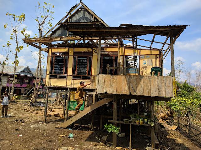 Bupati Instruksikan Rumah Dampak Puting Beliung Diperbaiki