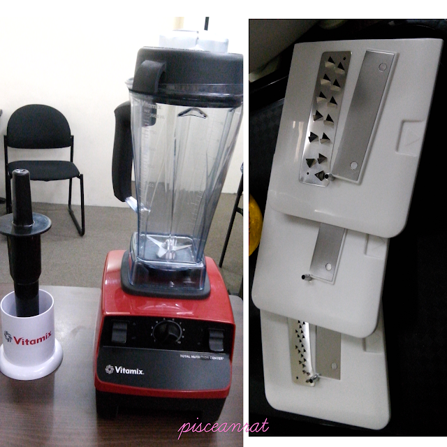The event was in partnership with Vitamix.  Vitamix is more than your average blender. It's like having 16 machines in 1!