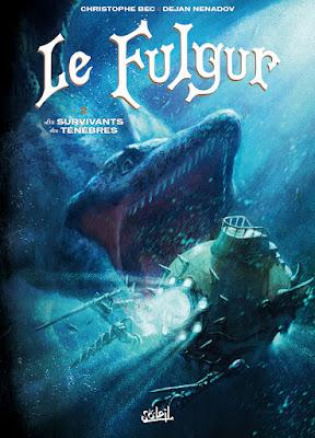 couverture le Fulgur T2 Les Survivants des Ténèbres de Christophe Bec et Dejan Nenadov chez Delcourt