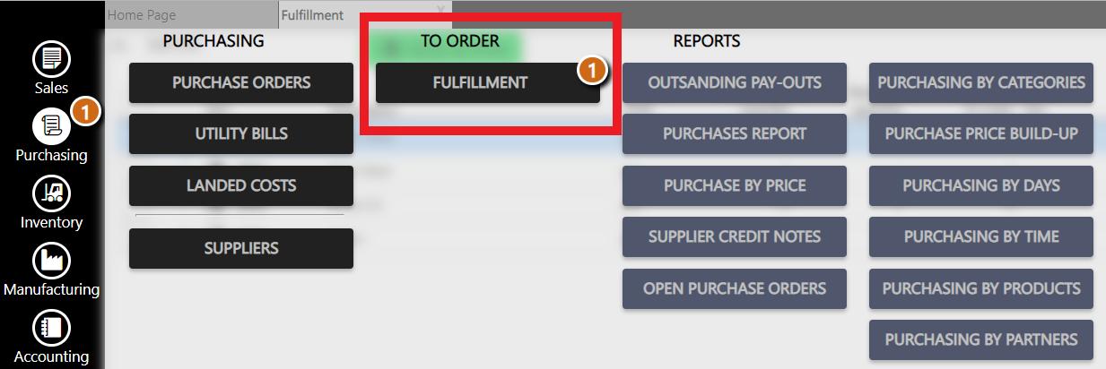 Fulfillment - backorders