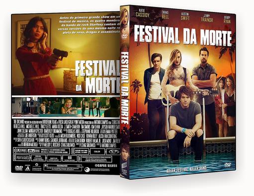 DVD-R – FESTIVAL DA MORTE – AUTORADO