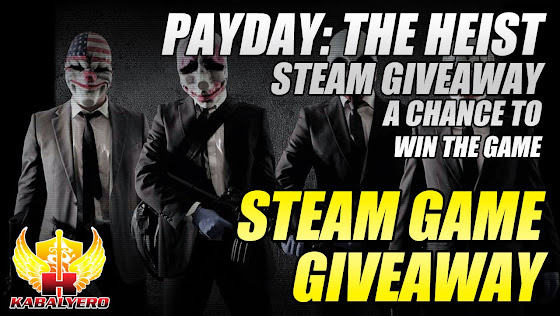 STEAM Game Giveaway, Payday: The Heist STEAM Giveaway