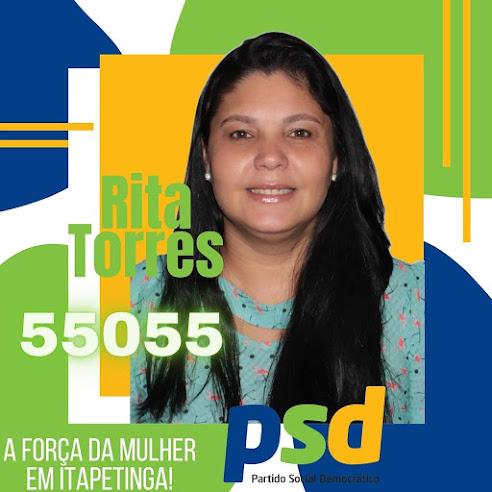 Rita Torres : Aposta de renovação para a Câmara de Itapetinga…