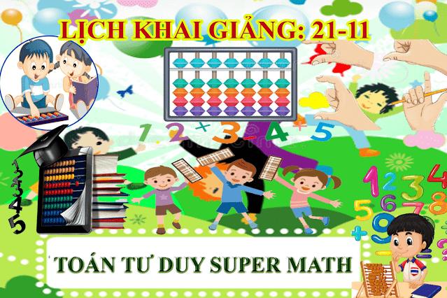 Nhượng quyền toán soroban tại Tân Phú Đồng Nai