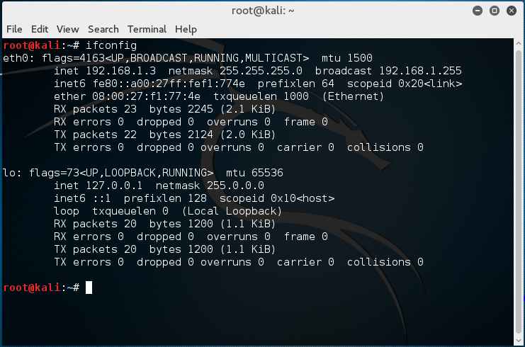 My Hacking Journal: Network and Port Scanning using Kali Linux