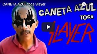CANETA AZUL CIFRA, CANETA AZUL MUSICA, TOQUE CANETA AZUL