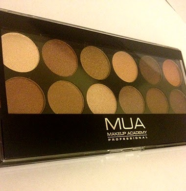 MUA Cosmetics Heaven and Earth eye shadow palette