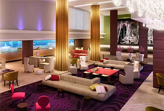 Stunning Hotel Lobbies – Interiors by Jacquin
