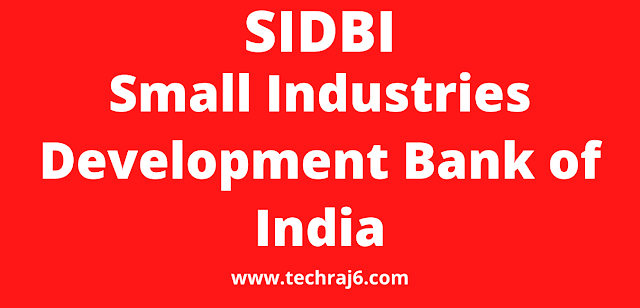 SIDBI full form, what is the full form of SIDBI