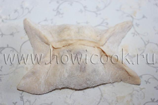 рецепт мантов на дрожжевом тесте с пошаговыми фото