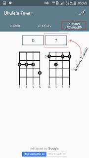 belajar chord ukulele lanjutan