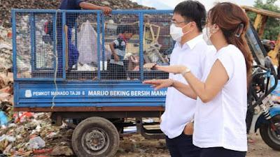 Liburan Idul Adha Diisi Wali kota Manado Dengan Mengunjungi TPA Sumompo