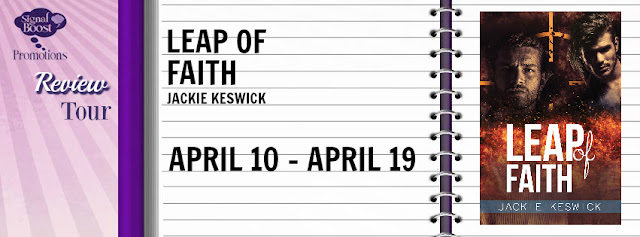 Review Tour incl Release Day Review & Giveaway: Leap of Faith by Jackie Keswick