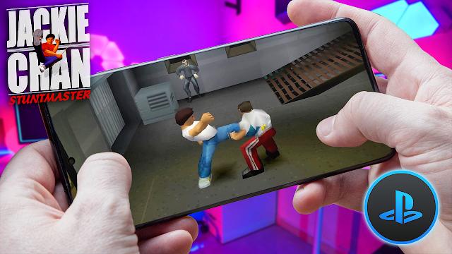 Jackie Chan Stuntmaster Para Teléfonos Android (ROM PS1)