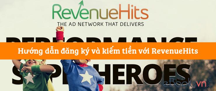 Hướng dẫn đăng ký và kiếm tiền với RevenueHits