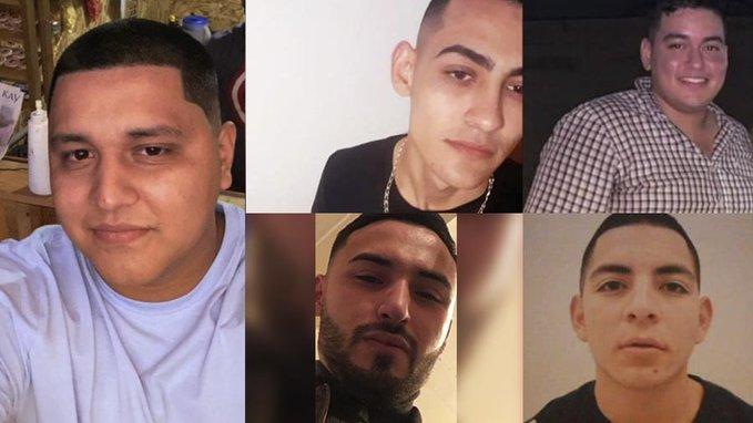 Ejecutados! Así encontraron en Hermosillo; Sonora los cuerpos de los 5 jóvenes levantados hace unos días cuando iban a la playa