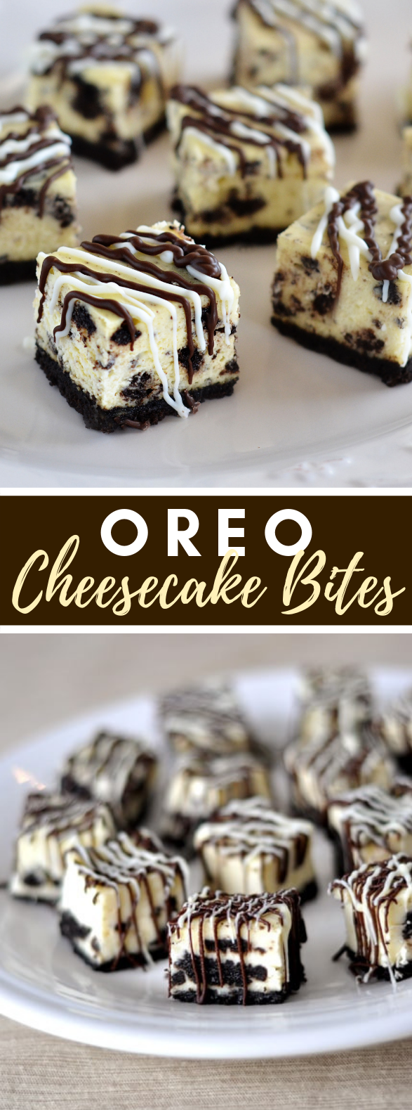 OREO CHEESECAKE BITES #desserts #chocolate
