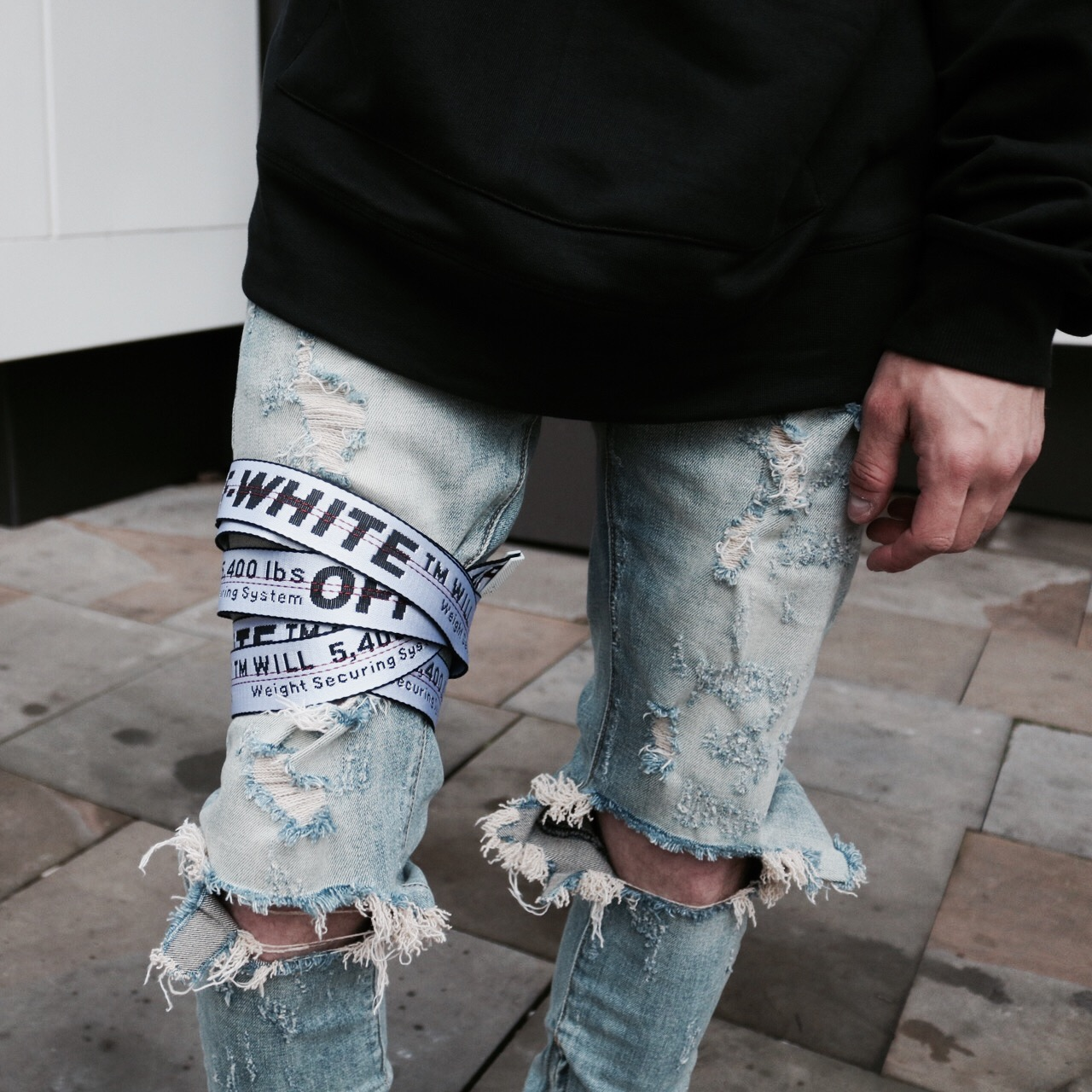 off white industrial belt review  lixm heeley