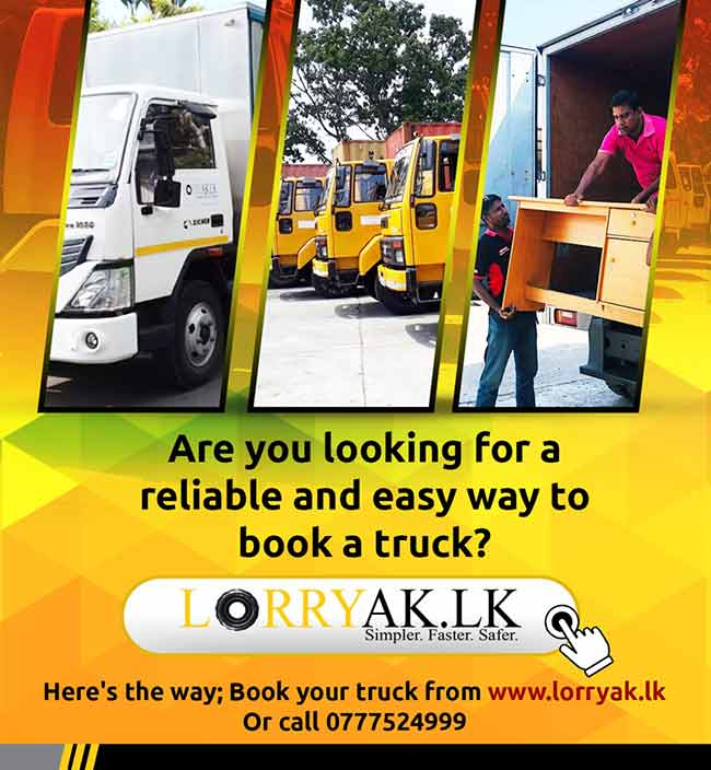 Lorryak.lk; Book a Truck online at your fingertips.