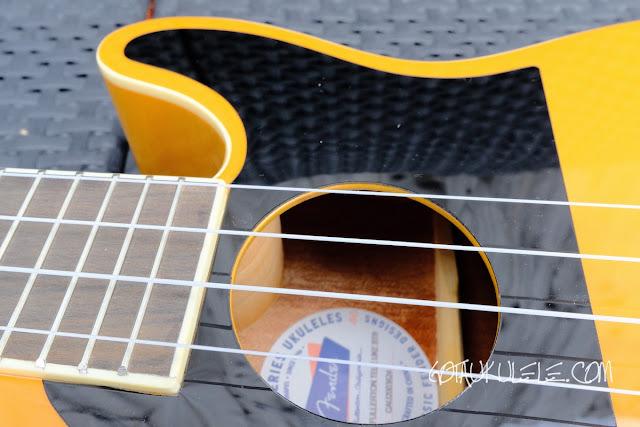 Fender Fullerton Tele Ukulele pick guard