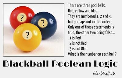 Billiard Ball Puzzle Poolean-Logic