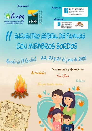 II Encuentro Estatal de Familias con Miembros Sordos