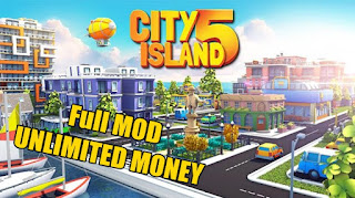 Download City Island 5 v2.3.5 MOD APK Unlimited Money Terbaru