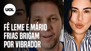 Fernanda Paes Leme e Mário Frias discutem – A Fazenda 2020