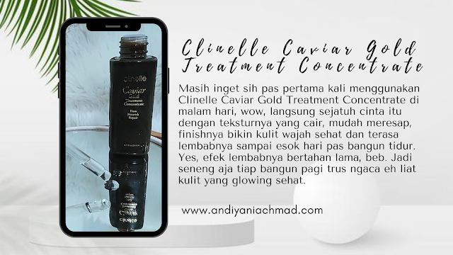 Review Clinelle Caviar Gold Treatment Concentrate