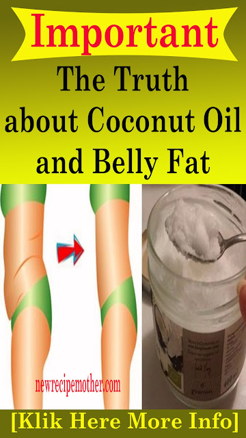 The Truth about Coconut Oil and Belly Fat #health #natural #remedies