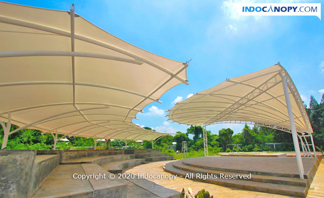 Jasa Canopy Membrane Tensile Membrane Profesional