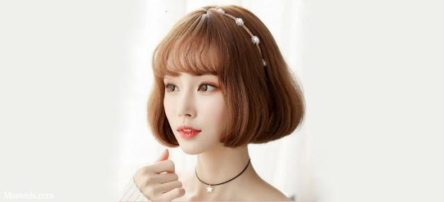 gaya rambut penek wanita