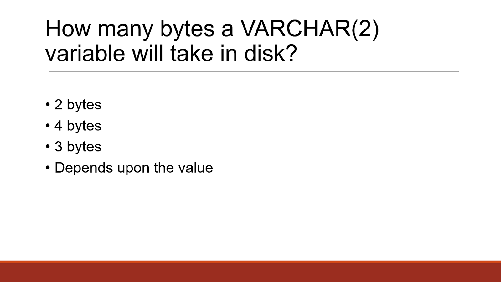 How many characters is allowed on VARCHAR(n) columns in SQL
