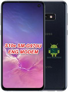 Samsung S10e SM-G970U U2 Eng Modem File
