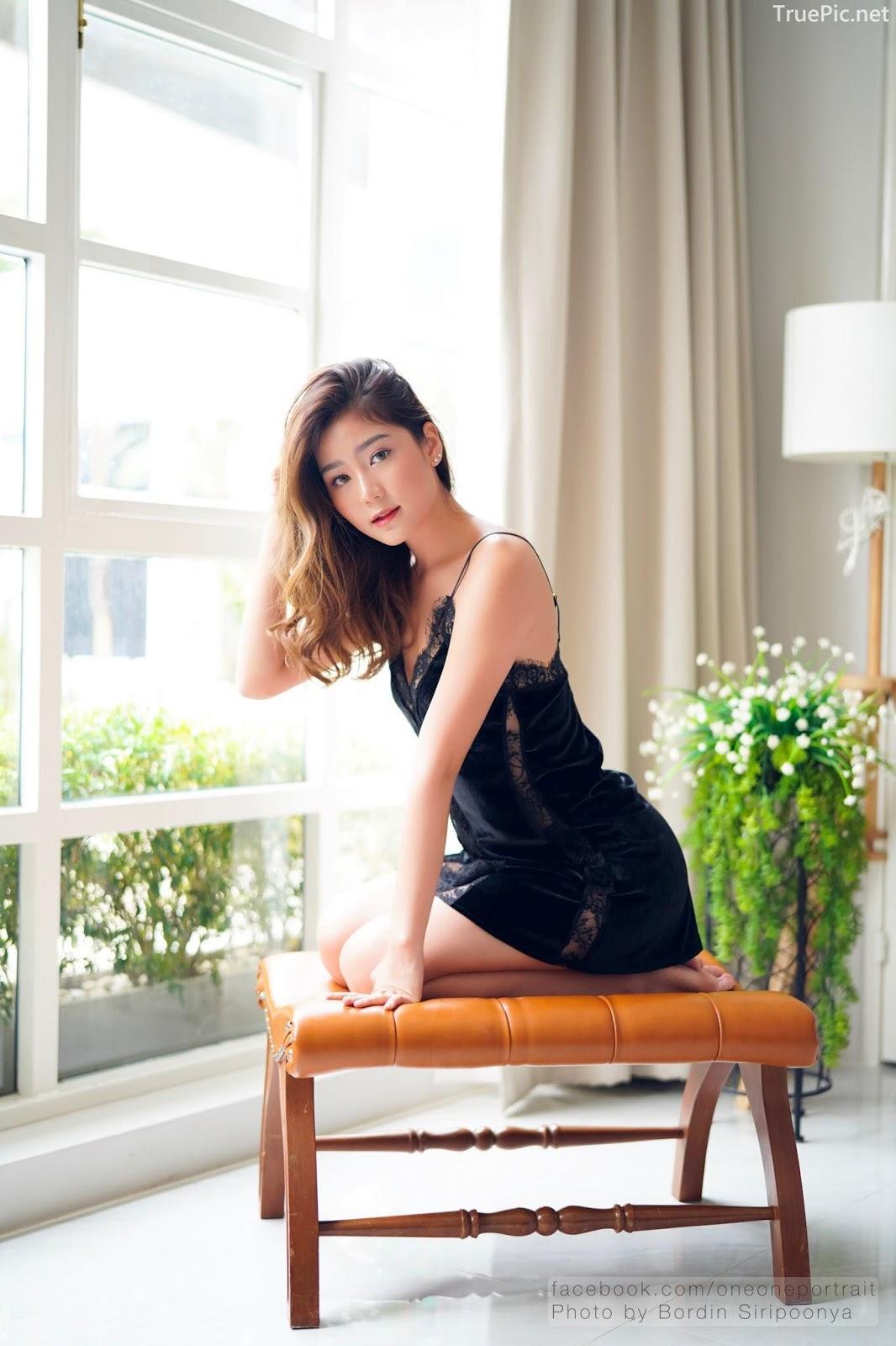 Thailand hot model Pattaravadee Boonmeesup vs Photo album Black Magic Sleepwear - Picture 9