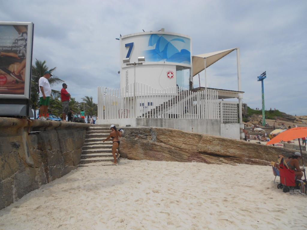 Пост 7 спасателей пляжа Ипанема