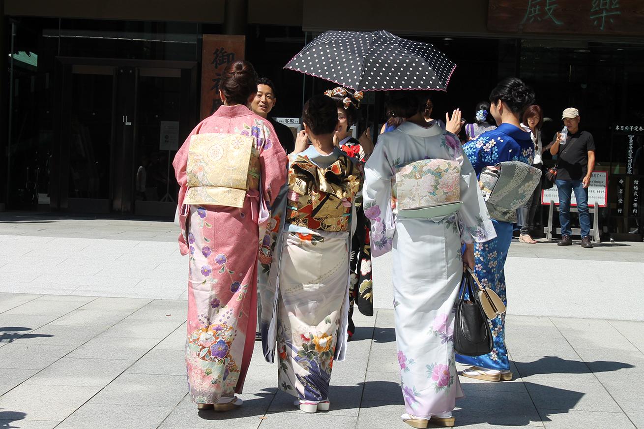 geisha style, Tokyo