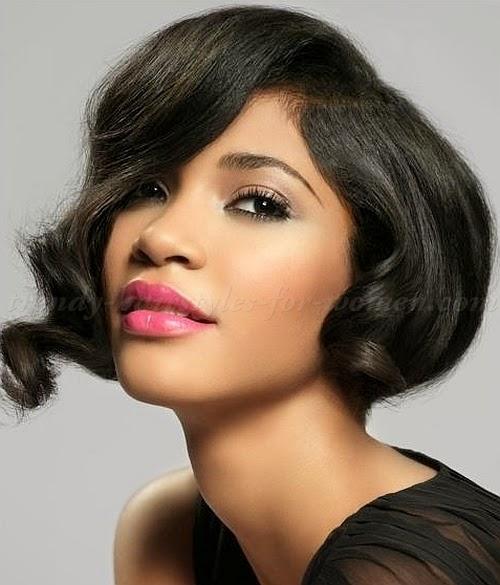 Fabulous Black Hair Short Layered Bobs Short Hair Fashions Short Hairstyles For Black Women Fulllsitofus