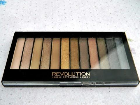 Recenzija: MakeUp Revolution - Iconic 1 (Naked Palette 1 Dupe)