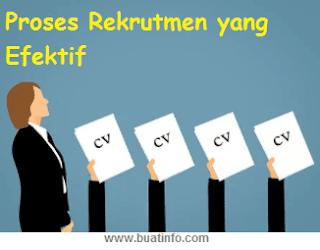 Buat Info - Proses Rekrutmen yang Efektif