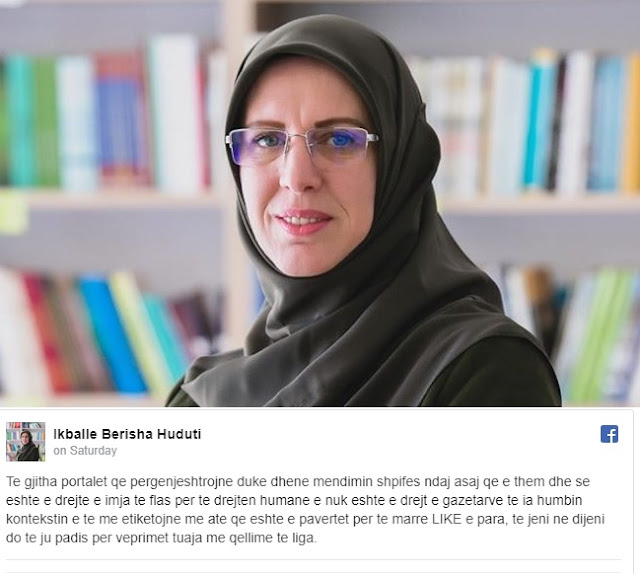 Woman arrested in Kosovo after expressing grief over Qassem Soleimani's murder