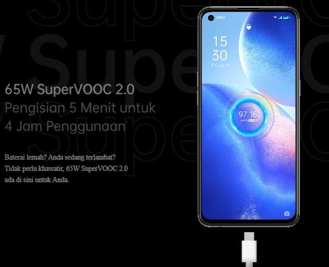 spesifikasi Oppo Reno5 5G Spesifikasi dan Harga Indonesia Terbaru 2021