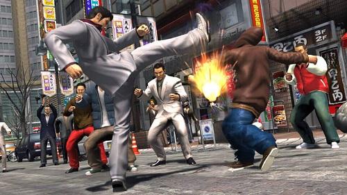 Yakuza 3 Remastered Gameplay